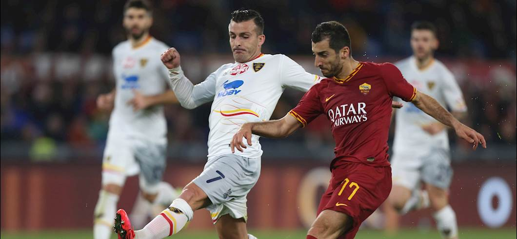 Roma-Lecce (Getty Images)