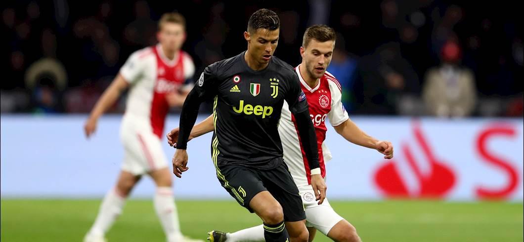 Ajax vS Juventus (getty)