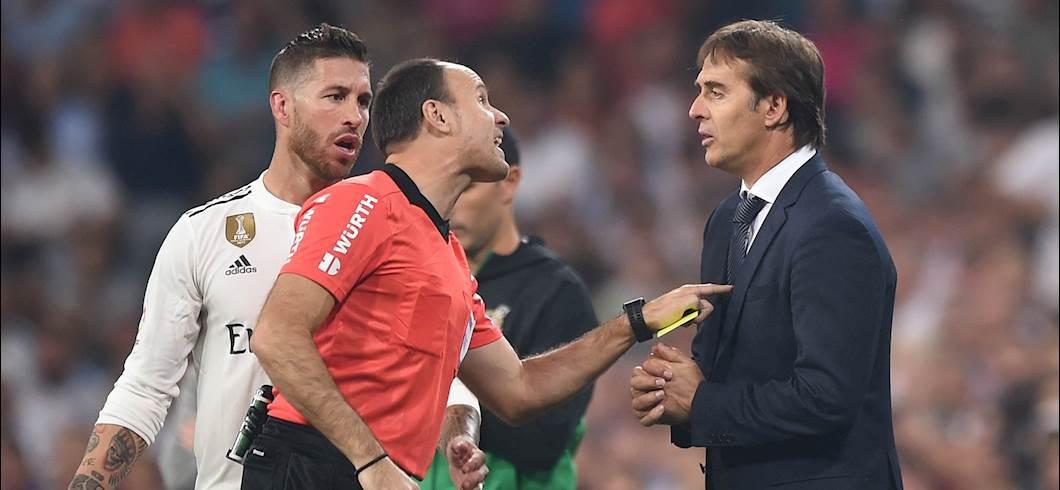Lopetegui e Sergio Ramos (Getty)