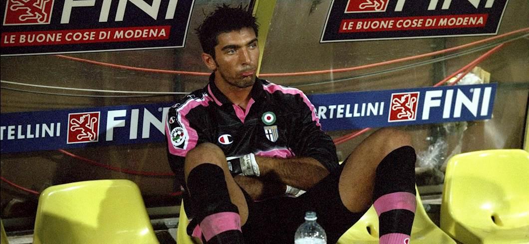Buffon nel 1999 (getty)