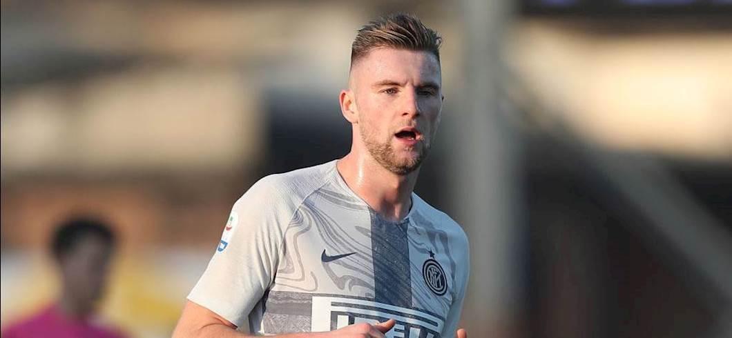 """Inter, Skriniar ci crede: """"In Champions Barcellona primo, noi secondi"""" (Getty Images)"""