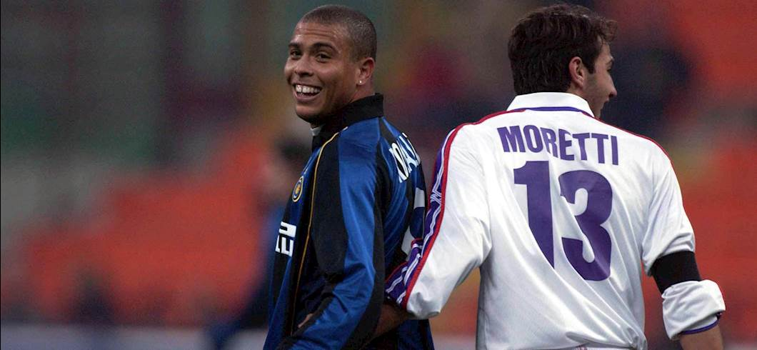 Ronaldo nel 2001 (getty)