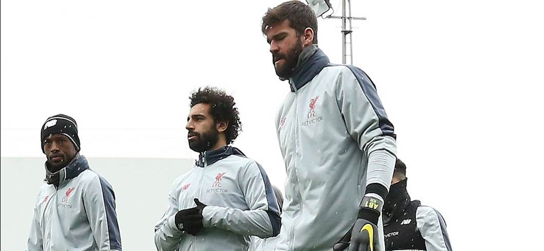 Mohamed Salah e Alisson (getty)