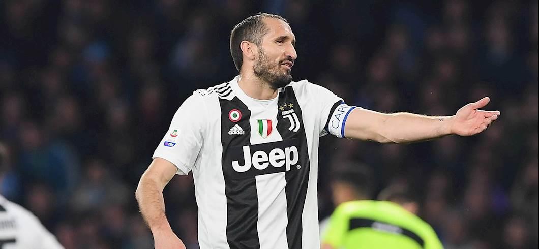 """Juventus, Chiellini: """"Cristiano Ronaldo non ha vinto il Pallone d\'Oro per furto del Real Madrid"""" (Getty Images)"""