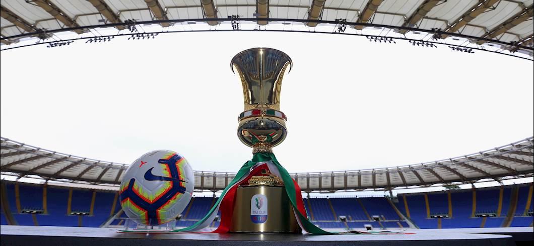 Coppa Italia 2019/20, ecco il tabellone completo fino alla