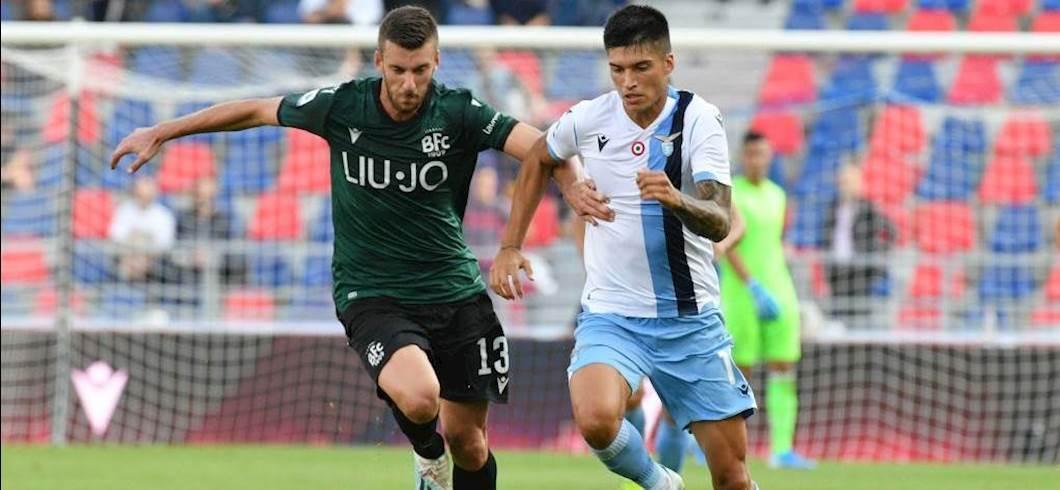 Lazio, Correa in gruppo (getty images)