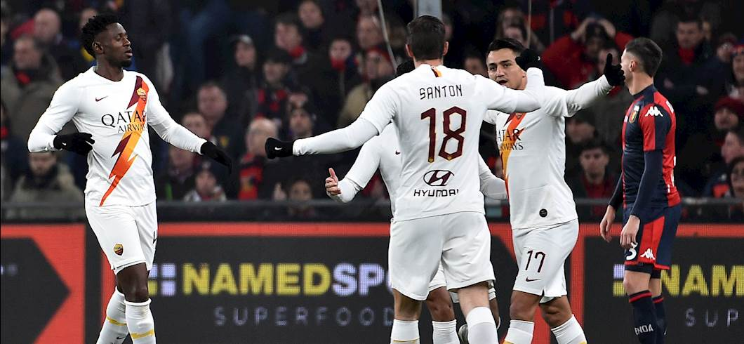 Genoa-Roma (Getty Images)