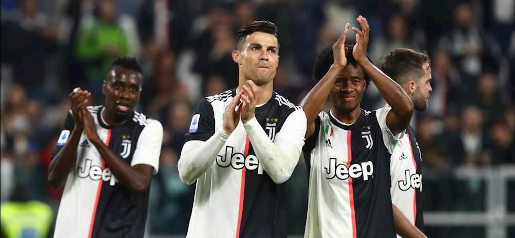 I giocatori della Juventus esultano a fine partita (Getty Images)