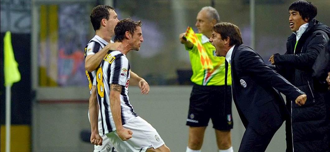 Claudio Marchisio e Antonio Conte (Getty Images)