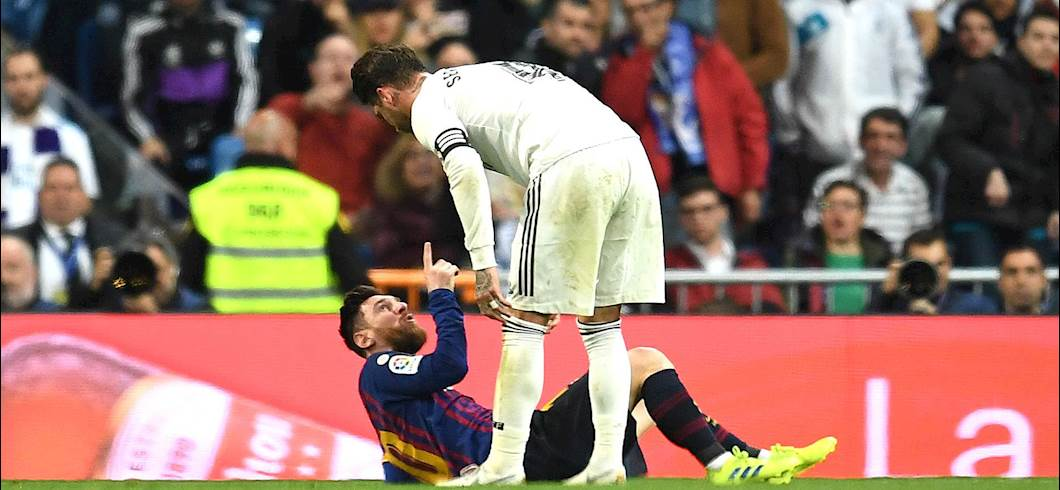 Messi e Sergio Ramos (getty)