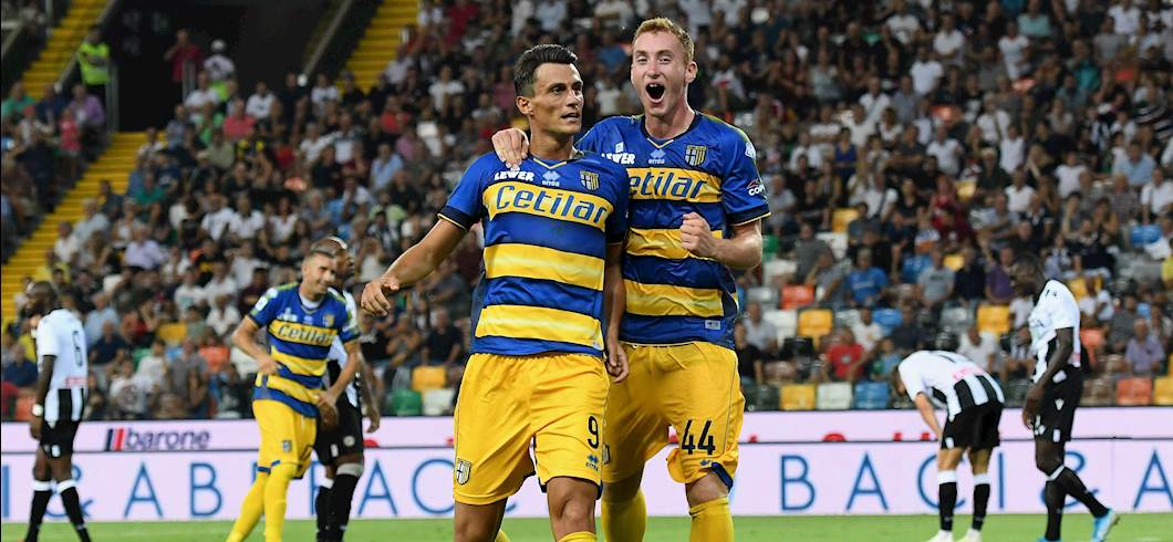 Esultanza Inglese, Udinese-Parma 1-3 (Getty Images)
