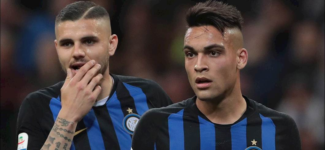 Icardi e Lautaro Martinez (Getty)