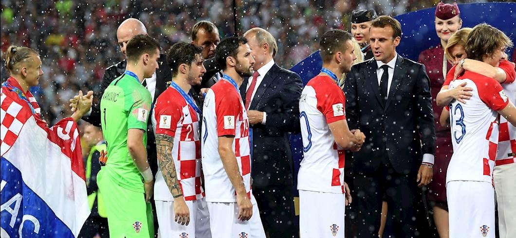 finale Mondiale tra Francia e Croazia (getty)