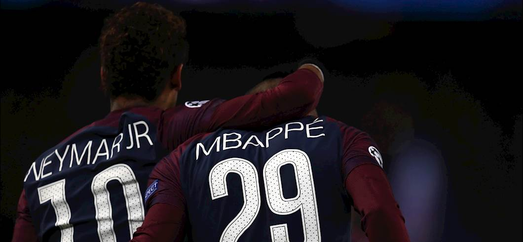 Neymar e Mbappé (getty)