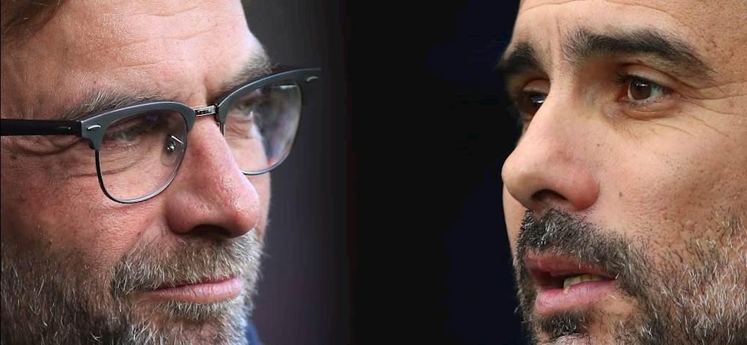 Klopp vs Guardiola (Getty Images)