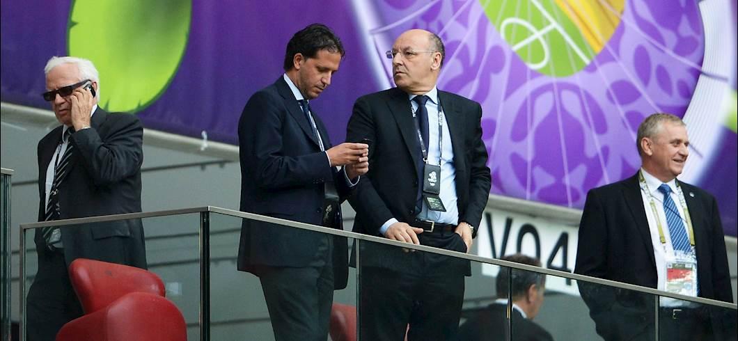 Fabio Paratici e Beppe Marotta (Getty)