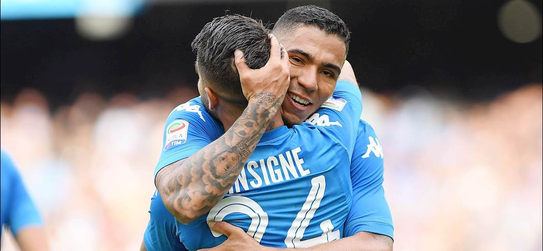 Allan e Insigne (getty images)