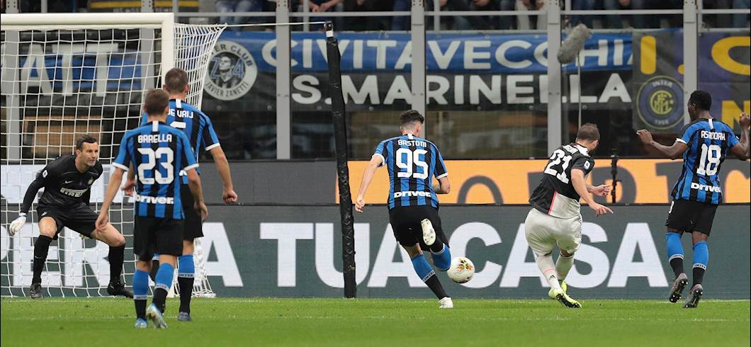 Il gol di Higuain (getty)