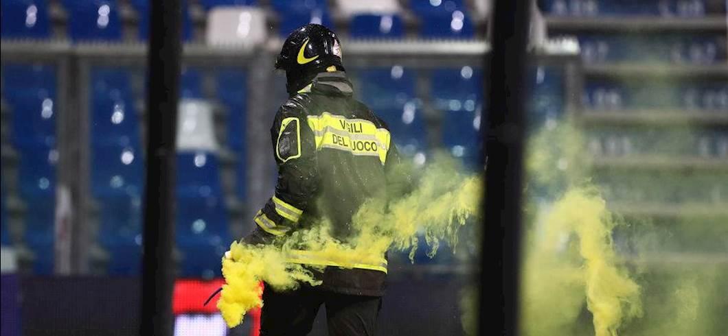 Vigile del Fuoco impiegato a Reggio Emilia (Getty Images)