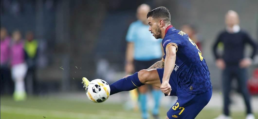 Roma: solo affaticamento per Spinazzola, può tornare per il Brescia (Getty Images)