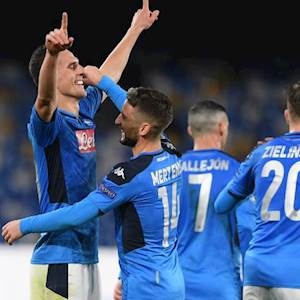 VIDEO - Napoli-Genk 4-0, gli highlights: Milik e Mertens a segno (Getty Images)