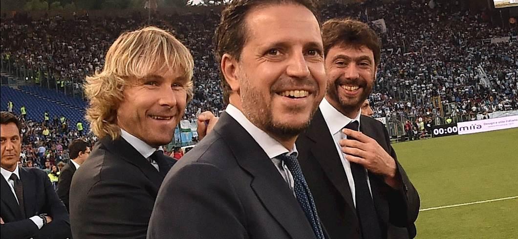 Pavel Nedved, Fabio Paratici, Andrea Agnelli (Getty)