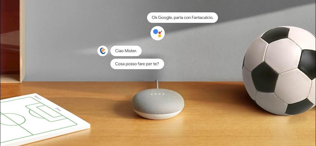 """OK, Google, parla con Fantacalcio"""": da oggi l'Assistente Google scende in  campo per aiutare i fantallenatori!"""
