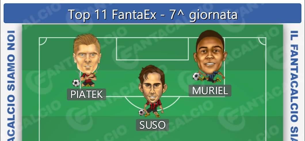 Top 11 FantaEx - 7^ giornata (Fantacalcio.it)