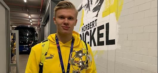 Haaland superstar (twitter official Dortmund)