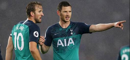 Kane e Vertonghen (Getty Images)