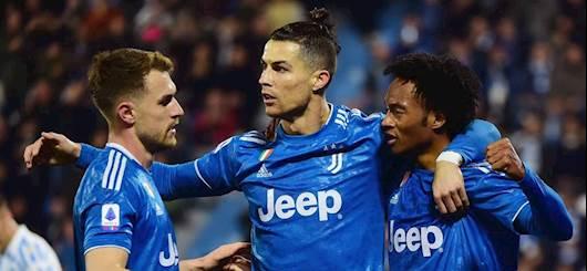 Ramsey, Ronaldo e Cuadrado (Getty Images)