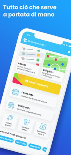 App Guida Fantagazzetta