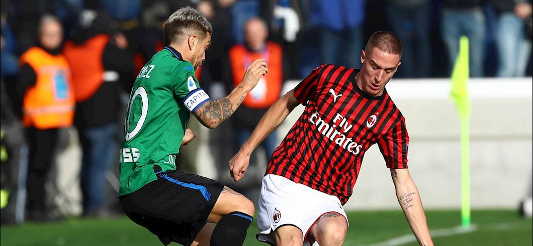 Atalanta-Milan (Getty)