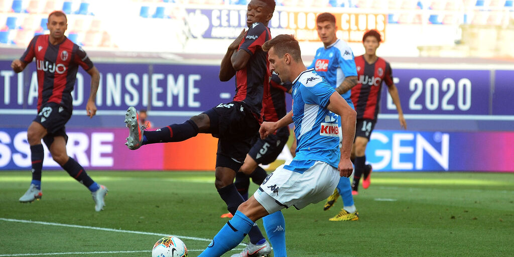 Bologna-Napoli (Getty Images)