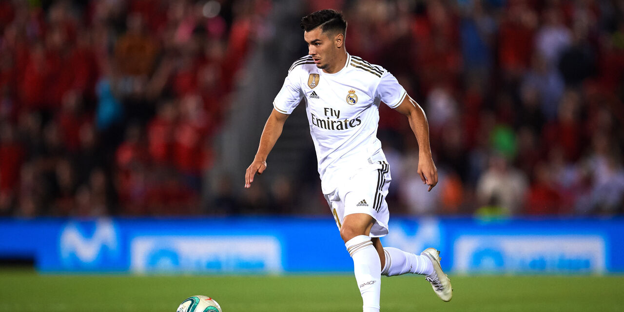 Brahim Diaz con la maglia del Real Madrid (Getty Images)