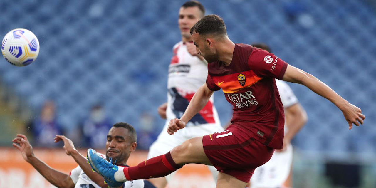 Roma-Crotone 5-0, gol e highlights (Getty Images)