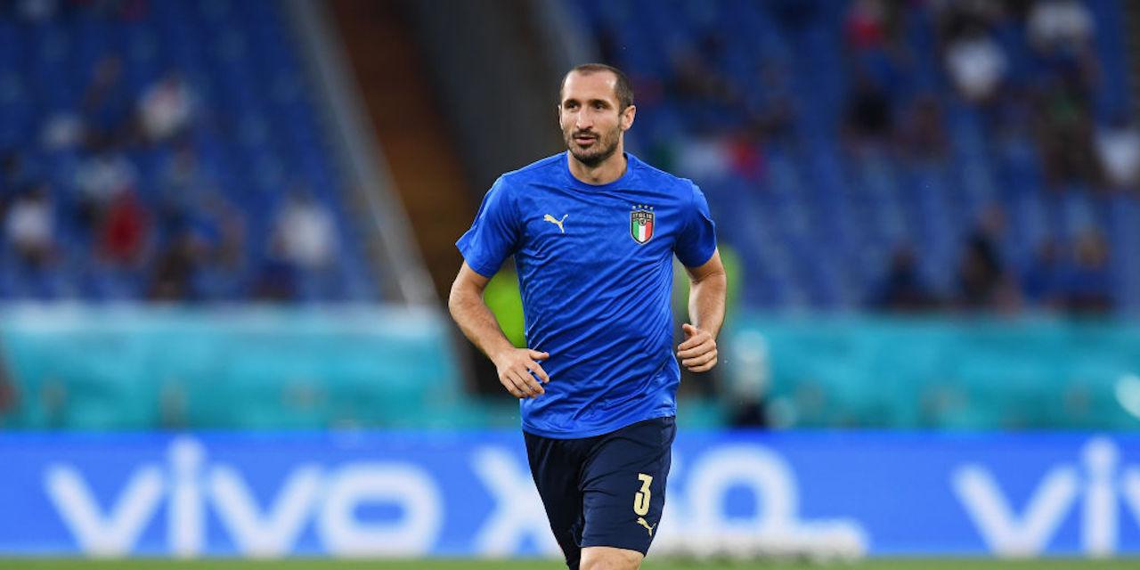 Problema muscolare per Giorgio Chiellini (Getty Images)