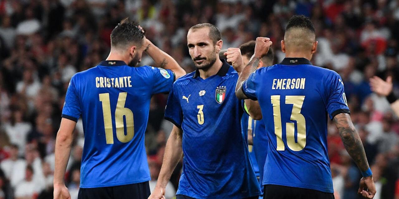 Le parole di Chiellini dopo Italia-Inghilterra (Getty Images)