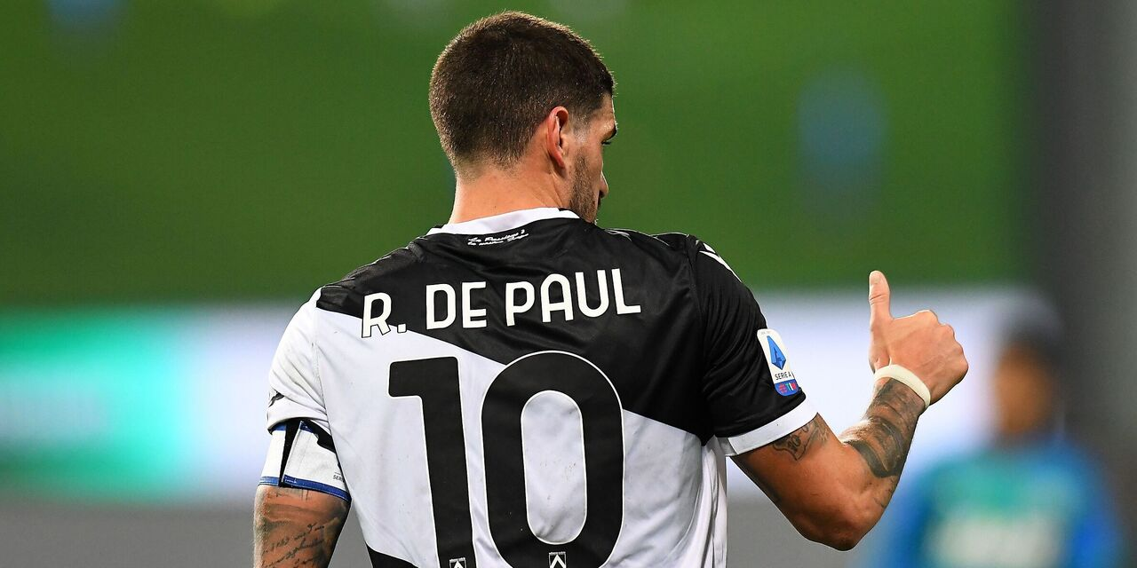 De Paul a Milano, la nota ufficiale dell\'Udinese (Getty Images)