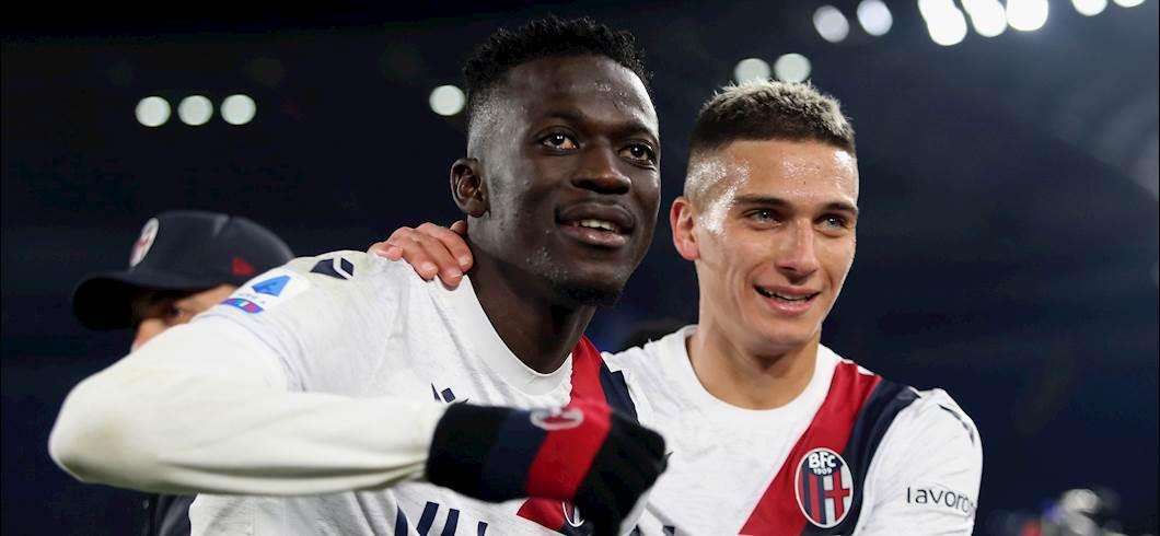 """Bologna, Dominguez: """"Momento di grande fiducia, dobbiamo continuare così"""" (Getty Images)"""