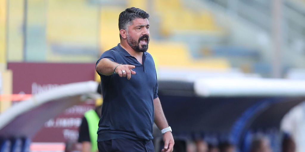 Napoli, Gattuso (Getty Images)