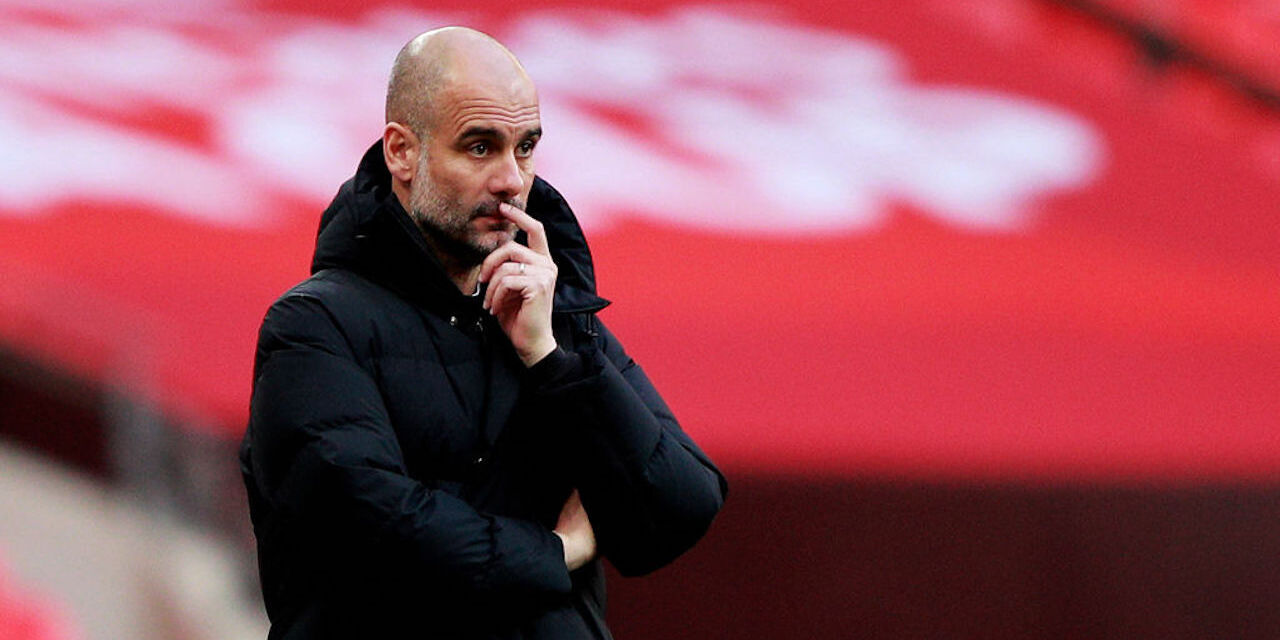 """Manchester City, Guardiola: """"La finale è un traguardo storico"""" (Getty Images)"""