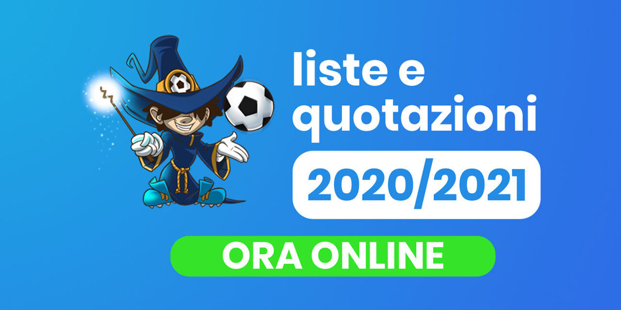 Fantacalcio 2020-2021: ecco liste, ruoli e le quotazioni Classic e Mantra