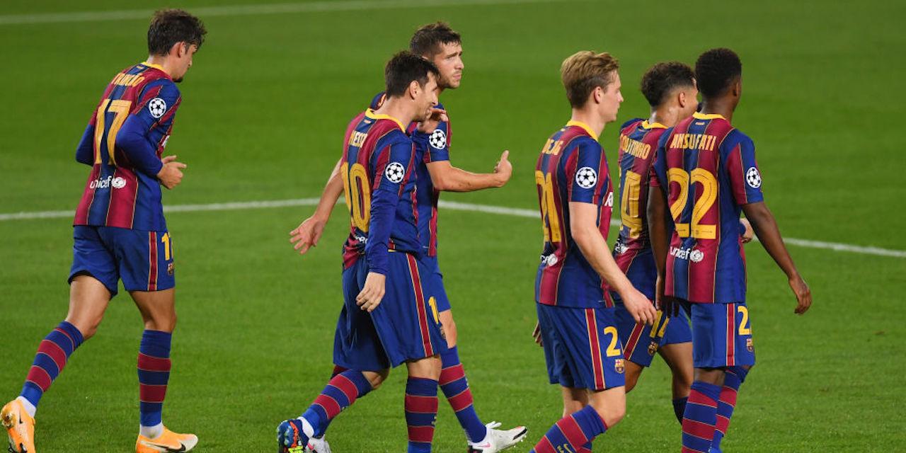 """Barcellona, Van Basten: """"Messi e Griezmann stanno giocando come pasticcieri"""" (Getty Images)"""