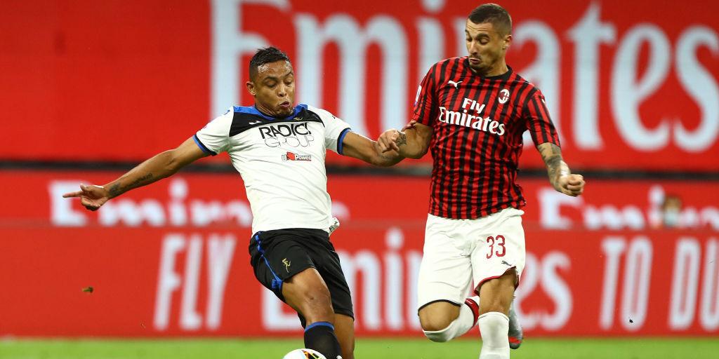 Milan-Atalanta (Getty Images)