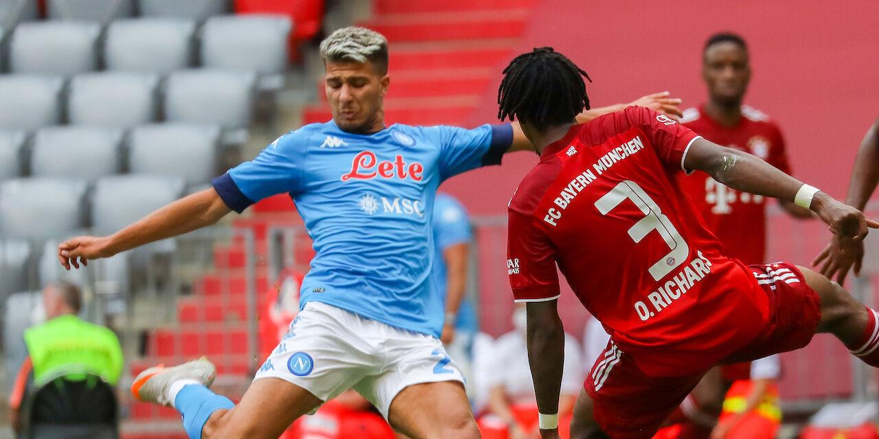 Wisla Cracovia-Napoli 1-2, cronaca e tabellino (Getty Images)