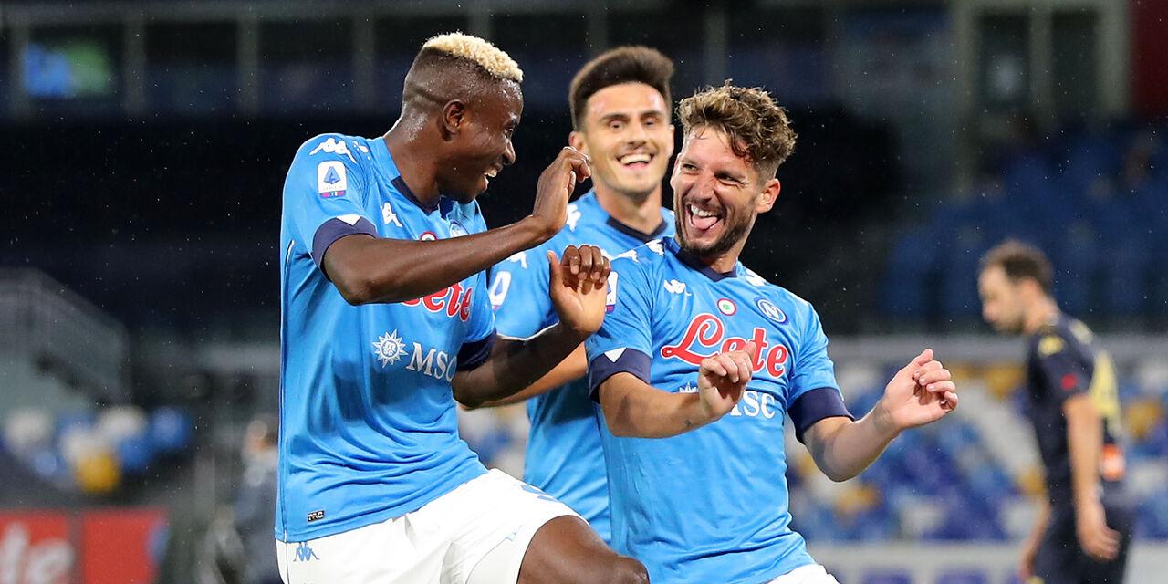 Fantacalcio: Osimhen partirà per la Coppa d\'Africa! Il Napoli trattiene Mertens (Getty Images)