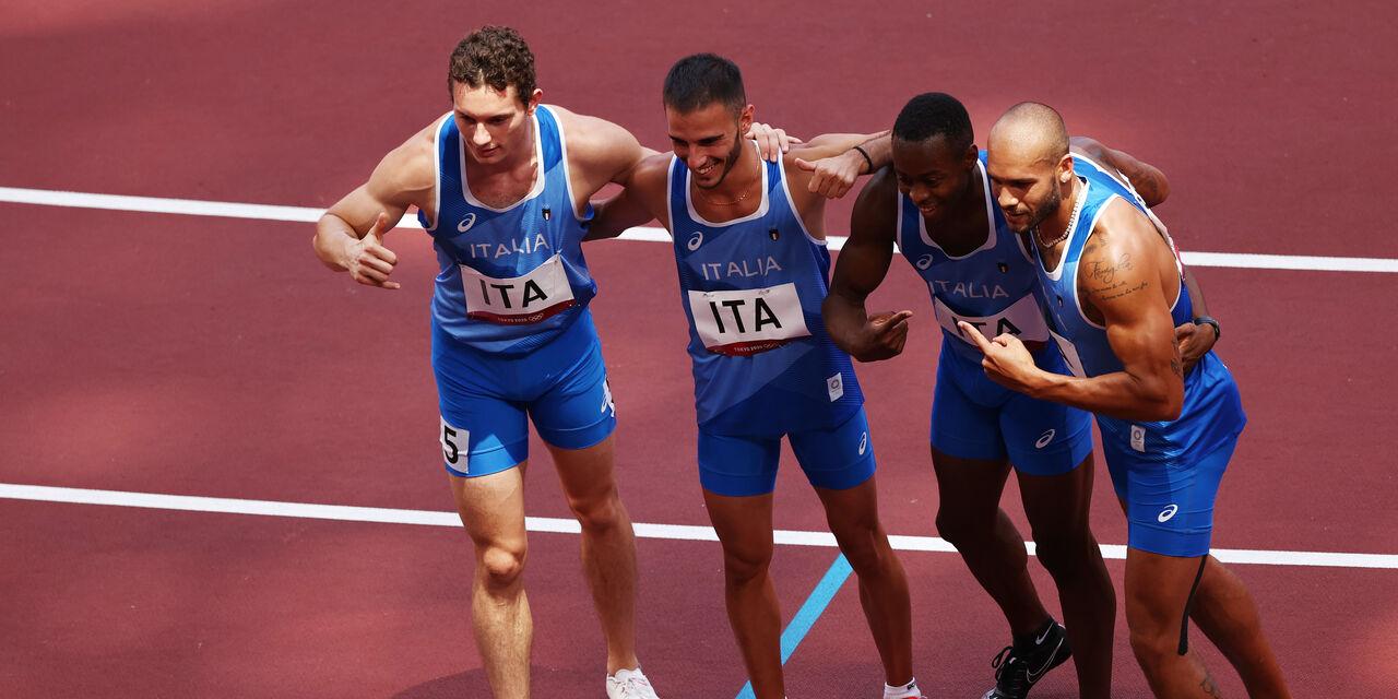 Olimpiadi Tokyo, Italia storica: oro nella staffetta 4x100 (Getty Images)