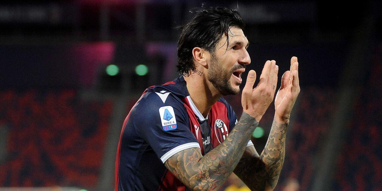 Soriano esulta dopo il gol (Getty Images)