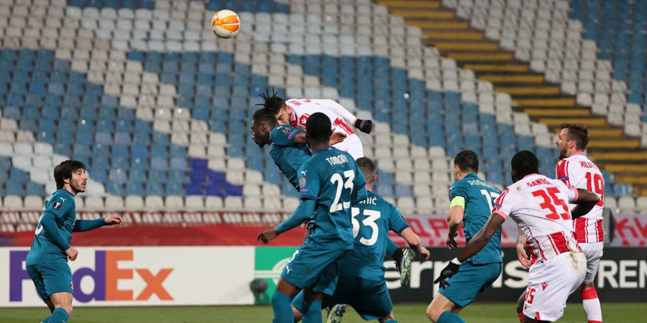 Europa League: Stella Rossa, due partite a porte chiuse per gli insulti a Ibrahimovic (Getty Images)